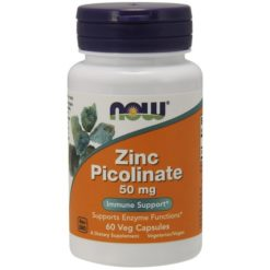 NOW Foods - Picolinato de Zinco 50mg - 60 vcaps
