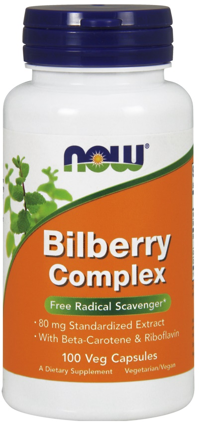 NOW Foods - Bilberry Complex