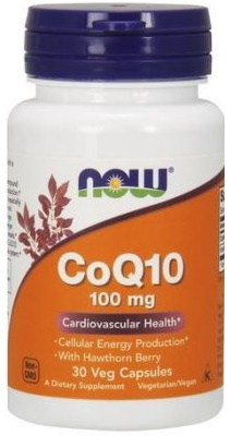 NOW Foods - CoQ10 with Hawthorn Berry