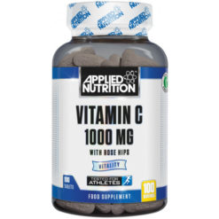 Applied Nutrition - Vitamin C with Rose Hips, 1000mg - 100 tabs