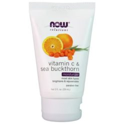 NOW Foods - Vitamin C & Sea Buckthorn - Moisturizer - 59 ml.