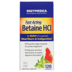 Enzymedica - Betaine HCL - 120 caps
