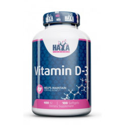 Haya Labs - Vitamin D-3, 400 IU - 100 softgels