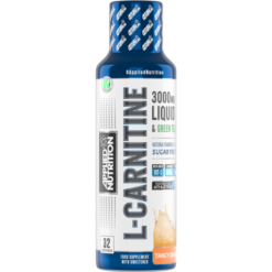 Applied Nutrition - L-Carnitine Liquid 3000 & Green Tea - Tangy Orange