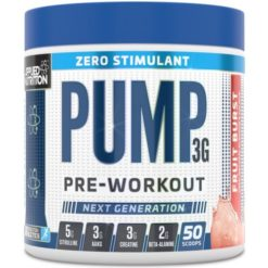 Applied Nutrition - Pump Zero Stimulant - Fruit Burst - 375g